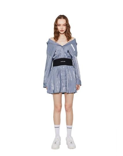 Y-Club Shirt Dress