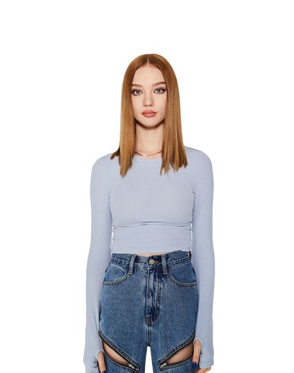 Blue Lily Top