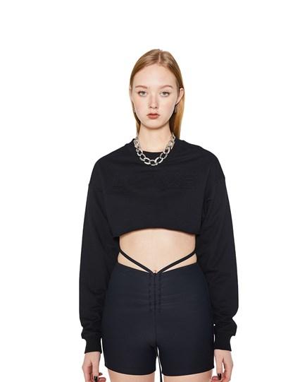 Y-Club Crop Sweater