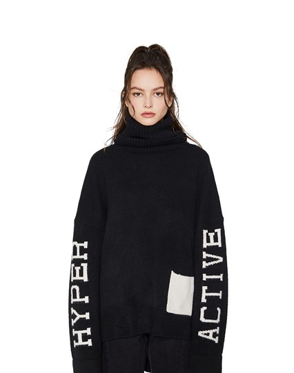 Hyperactive Turtleneck Sweater