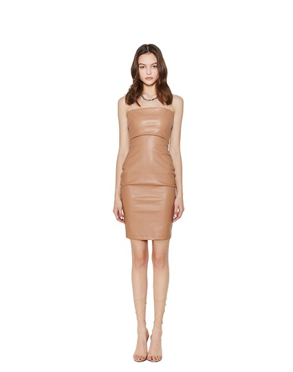 Be Mine Leather Dress