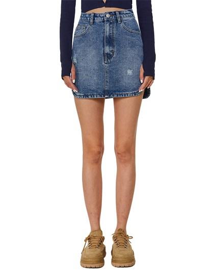 West Village Denim Skirt