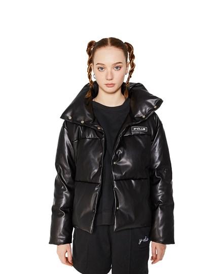 Puff Leather Jacket