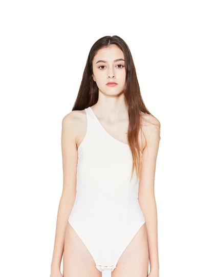 Asymmetric Bodysuit