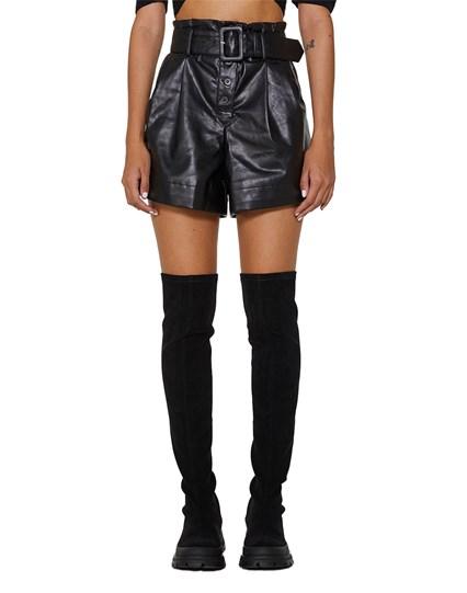 Impress Leather Shorts